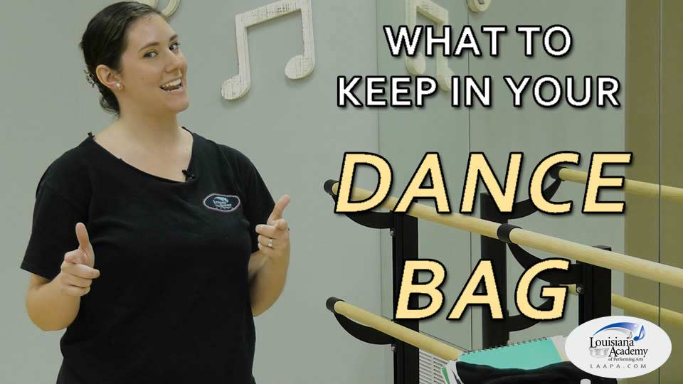 What's in your Dance School Bag?