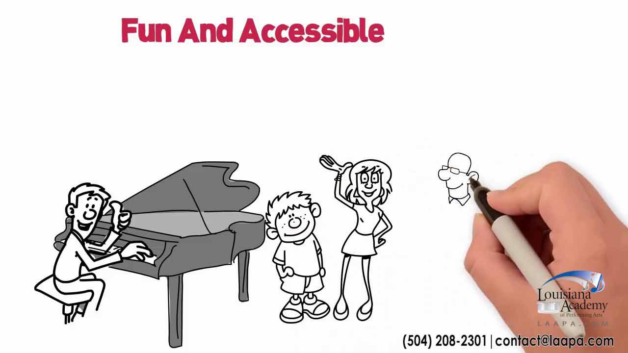 Piano Instruction at LAAPA in Metairie, Covington, and Mandeville, LA