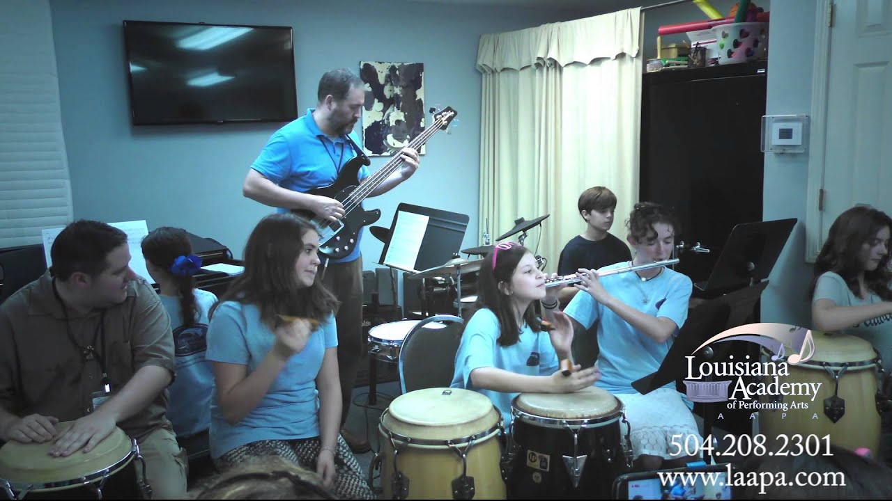 Summer Camp Performances at LAAPA in Metairie, Covington, and Mandeville, LA