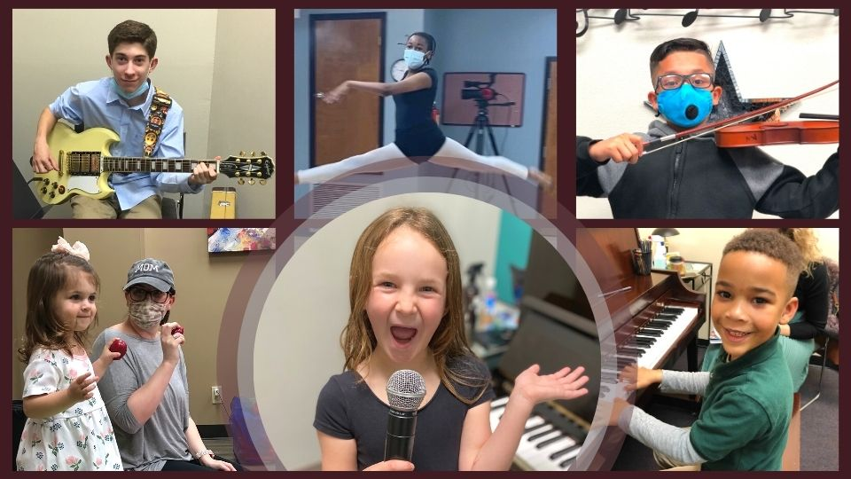 Open for Music Lessons and Dance Classes in Piano, Guitar, Singing, Violin, Ballet, Hip Hop and More in Elmwood, Metairie, Harahan, New Orleans, Covington, and Mandeville, LA